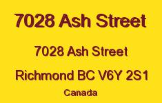 7028 Ash Street 7028 ASH V6Y 2S1