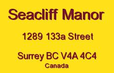 Seacliff Manor 1289 133A V4A 4C4