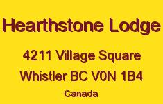 Hearthstone Lodge 4211 VILLAGE V0N 1B4