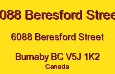 6088 Beresford Street 6088 BERESFORD V5J 1K2