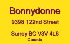 Bonnydonne 9398 122ND V3V 4L6