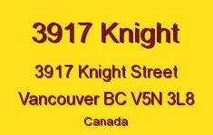 3917 Knight 3917 KNIGHT V5N 3L8