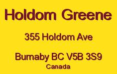 Holdom Greene 355 HOLDOM V5B 3S9