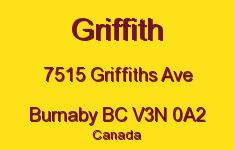 Griffith 7515 GRIFFITHS V3N 0A2