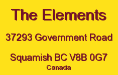 The Elements 37293 GOVERNMENT V8B 0G7