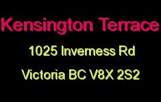 Kensington Terrace 1025 Inverness V8X 2S2