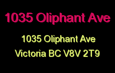1035 Oliphant 1035 Oliphant V8V 2T9