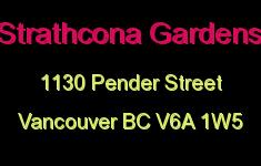 Strathcona Gardens 1130 PENDER V6A 1W5