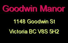 Goodwin Manor 1148 Goodwin V8S 5H2