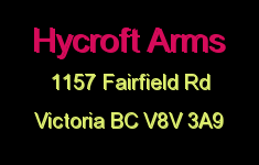 Hycroft Arms 1157 Fairfield V8V 3A9