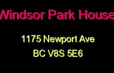Windsor Park House 1175 Newport V8S 5E6