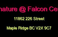 Signature @ Falcon Centre 11862 226 V2X 9C7