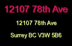 12107 78th Ave 12107 78TH V3W 5B6