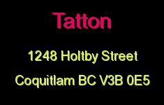 Tatton 1248 HOLTBY V3B 0E5