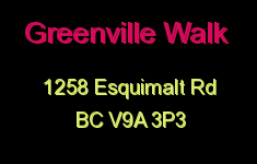 Greenville Walk 1258 Esquimalt V9A 3P3