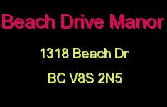 Beach Drive Manor 1318 Beach V8S 2N5