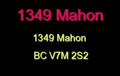 1349 Mahon 1349 MAHON V7M 2S2