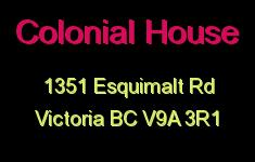 Colonial House 1351 Esquimalt V9A 3R1