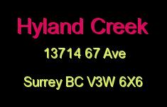 Hyland Creek 13714 67 V3W 6X6