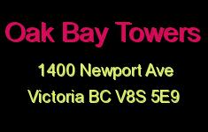 Oak Bay Towers 1400 Newport V8S 5E9