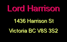Lord Harrison 1436 Harrison V8S 3S2