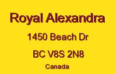 Royal Alexandra 1450 Beach V8S 2N8