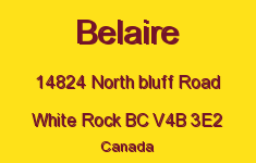 Belaire 14824 NORTH BLUFF V4B 3E2
