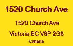 1520 Church Ave 1520 Church V8P 2G8