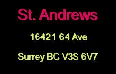 St. Andrews 16421 64 V3S 6V7