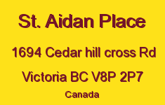 St. Aidan Place 1694 Cedar Hill Cross V8P 2P7
