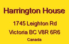 Harrington House 1745 Leighton V8R 6R6