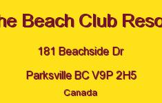 The Beach Club Resort 181 Beachside V9P 2H5
