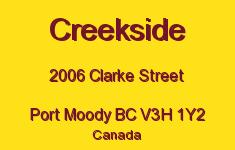 Creekside 2006 CLARKE V3H 1Y2
