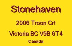 Stonehaven 2006 Troon V9B 6T4