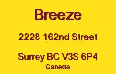 Breeze 2228 162ND V3S 6P4
