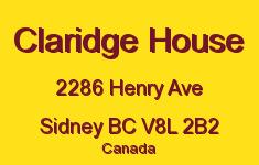 Claridge House 2286 Henry V8L 2B2