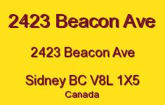 2423 Beacon Ave 2423 Beacon V8L 1X5