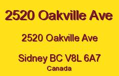 2520 Oakville Ave 2520 Oakville V8L 6A7