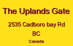 The Uplands Gate 2535 Cadboro Bay