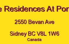 The Residences At Portsid 2550 Bevan V8L 1W6