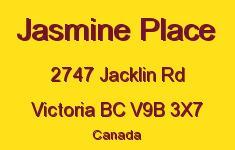 Jasmine Place 2747 Jacklin V9B 3X7