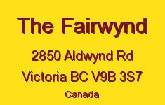 The Fairwynd 2850 Aldwynd V9B 3S7