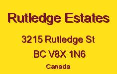 Rutledge Estates 3215 Rutledge V8X 1N6