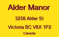 Alder Manor 3258 Alder V8X 1P2