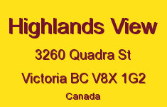Highlands View 3260 Quadra V8X 1G2