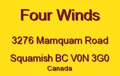 Four Winds 3276 MAMQUAM V0N 3G0