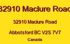 32910 Maclure Road 32910 MACLURE V2S 7V7
