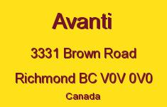 Avanti 3331 BROWN V0V 0V0