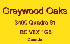 Greywood Oaks 3400 Quadra V8X 1G6