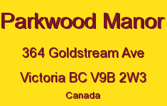 Parkwood Manor 364 Goldstream V9B 2W3